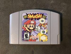 Nintendo 64 Game Lot! Mario Kart 64, Super Smash Bros, Mario Party for Sale in Newton, KS
