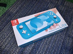 Brand New Nintendo Switch Lite Blue Turquoise ***ITS AVAILABLE*** for Sale in Roseville, CA
