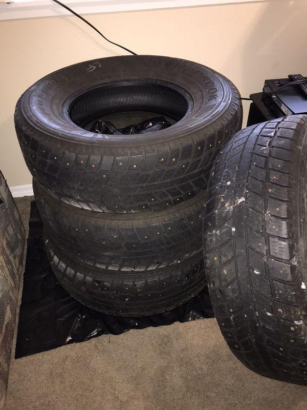 Hankook snow tires set of 4