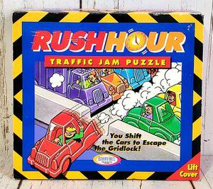 Rush Hour Traffic Jam Puzzle Board Game Thinkfun 1996 - Complete EXCELLENT Shape for Sale in Harrisonburg, VA