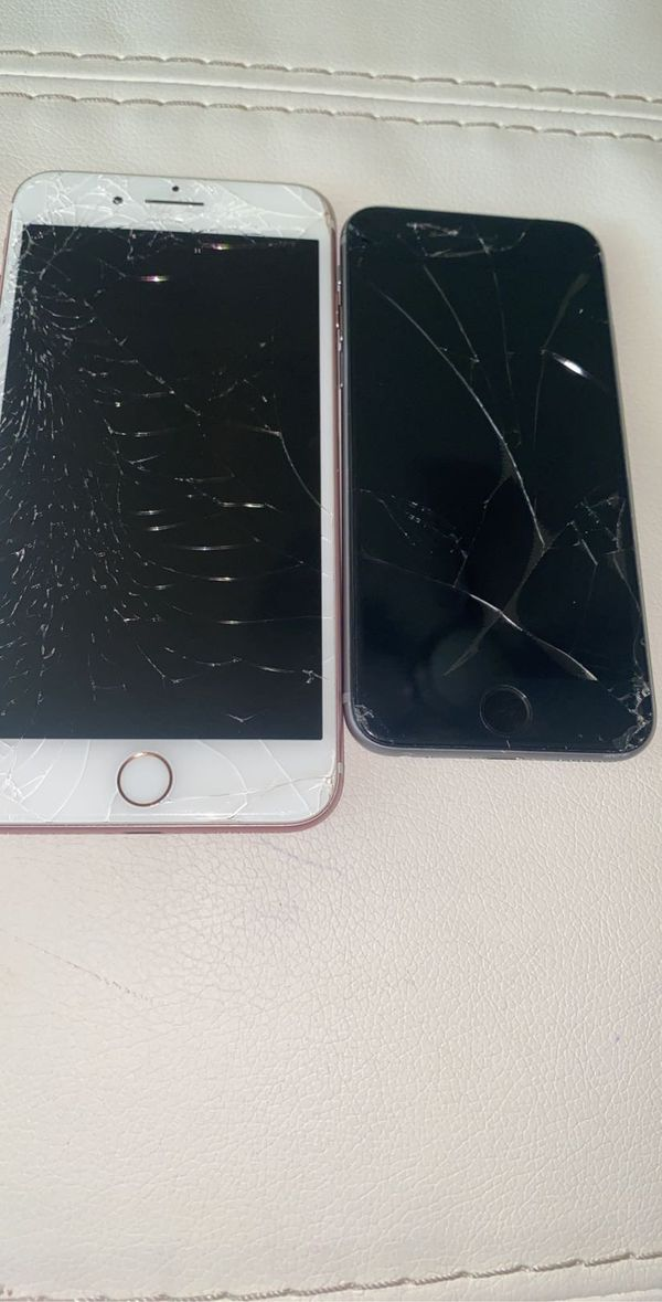 $110 for two iPhones all thing wrong is the screen need fix paid off and unlocked