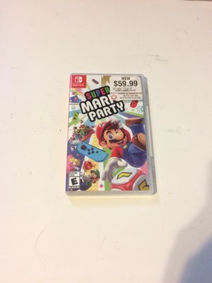 Nintendo switch super Mario party for Sale in Plantation, FL