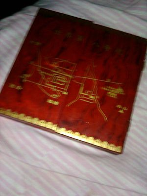 Chinese collectible antique solid wood box for Sale in Las Vegas, NV