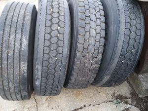 Tires 295/75r22.5 for Sale in DeWitt, IA
