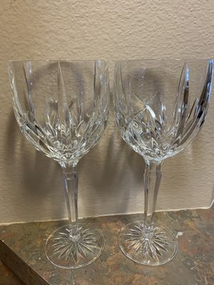 Lead Crystal Hand Cut Goblets for Sale in Lutz, FL
