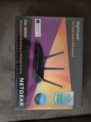 Netgear router R7000p-100Nas for Sale in Mansfield, MA