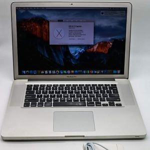 """Macbook Pro 15"""" Intel 2.8Ghz Processor 8gb Ram 250GB SSD. New Battery & Charger + Ps/Ai/Lr, Logic, Final Cut Pro, Office. for Sale in North Las Vegas, NV"""