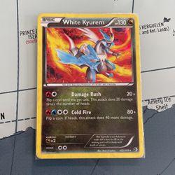 Holo White Kyurem 102/149 [ Laminated ] Pokémon Card for Sale in Renton,  WA