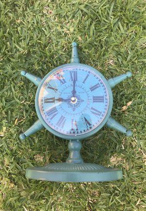 Nautical blue clock for Sale in La Puente, CA