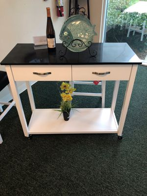 Kitchen cart 🚨 mobile kitchen island for Sale in Goulds, FL