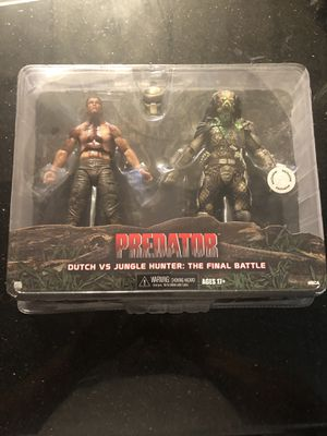 Predator Dutch Vs Jungle Hunter Final Battle for Sale in Folsom, CA