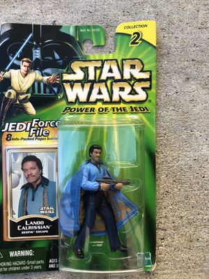 Star Wars Lando Calrissian Power of the Jedi collection 2 Action Figure for Sale in Los Angeles, CA