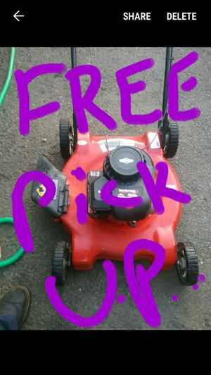 Free Pick Up of All Lawn Mowers and Lawn Tractors. for Sale in Lynnwood, WA