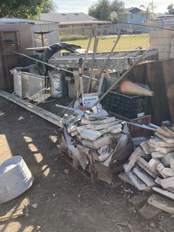 Bricks , Pavers , Commercial Shelving, Alot Of Random Scrap Metal for Sale in Peoria,  AZ