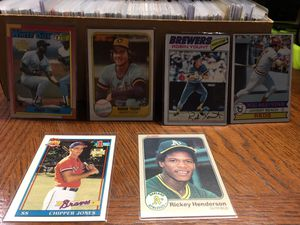 MINT BASEBALL CARDS for Sale in Gilbertsville, PA