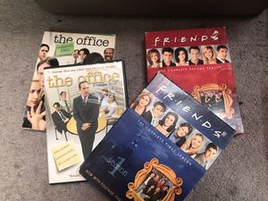 The Office and FRIENDS TV seasons DVD for Sale in Petersburg, VA