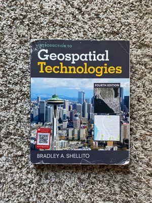 Geospatial Technologies Textbook for Sale in Baton Rouge, LA