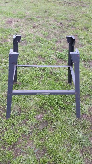 Metal work table stand for Sale in Kirkland, WA