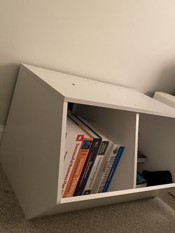 White Wooden Bookcase for Sale in Washington,  DC