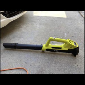 RYOBI ONE+ 90 MPH 200 CFM 18-Volt Lithium-Ion Cordless Battery Leaf Blower (Tool Only) for Sale in South El Monte, CA
