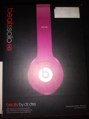Solo beats by dre for Sale in North Providence, RI