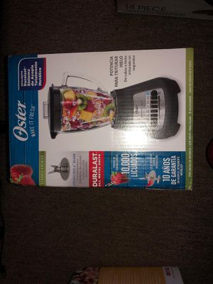 Oster Classic Series Blender, Black, 5-Speed, Durablast All metal Blade. for Sale in Hanover Park, IL