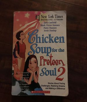 Chicken soup for the soul preteen book for Sale in Fresno, CA