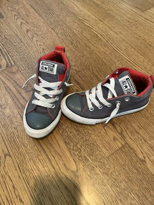 Kids converse shoes size 13 for Sale in Virginia Beach, VA