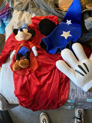 Mickey Sorcerer costume for Sale in Highland, CA