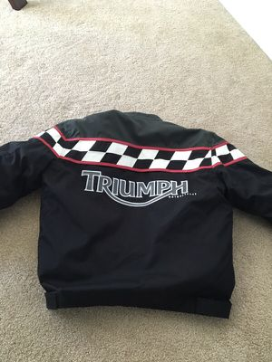Triumph Motorcycle Jacket like new for Sale in Edgewood, WA
