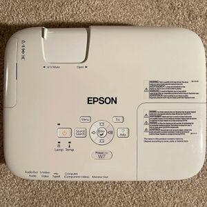 Epson PowerLite W7 LCD Projector for Sale in Grosse Ile Township, MI