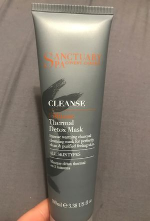 Sanctuary Spa Cleanser 5 minute Detox Mask for Sale in Brooklyn, NY