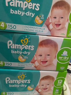 PAMPER BABY DRY SIZE 4 $32 CADA UNO PRECIO FIRME for Sale in Fountain Valley, CA