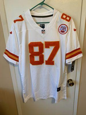 Travis Kelce #87 white Kansas chiefs jersey for Sale in San Fernando, CA