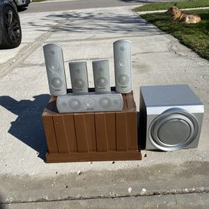 Panasonic 5.1 Dolby Home Theater System for Sale in Sarasota, FL