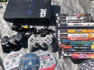 PlayStation 2 With 10+ Games / 2 Controllers $45 for Sale in San Diego, CA