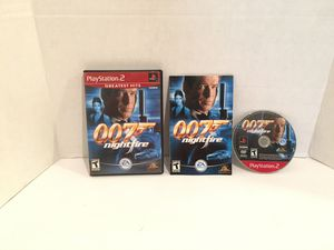 Playstation 2 ps2 007 Nightfire Game for Sale in San Bernardino, CA
