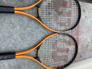 Wilson tennis rackets for Sale in Cerritos, CA