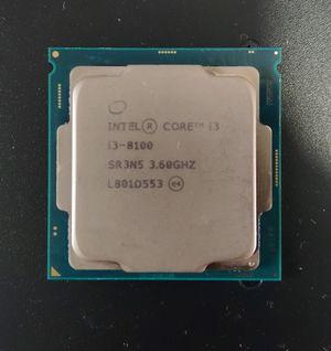 Like New Intel Core I3 8100 3.6ghz Processor for Sale in O'Fallon, MO