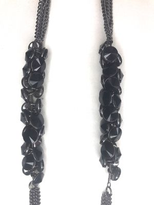 Black and gun metal necklace for Sale in Washington, DC