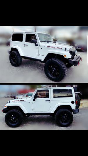 2012 JEEP WRANGLER 4WD RUBICON **102k miles** for Sale in San Antonio, TX
