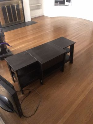 TV Stand (dark brown) for Sale in San Francisco, CA