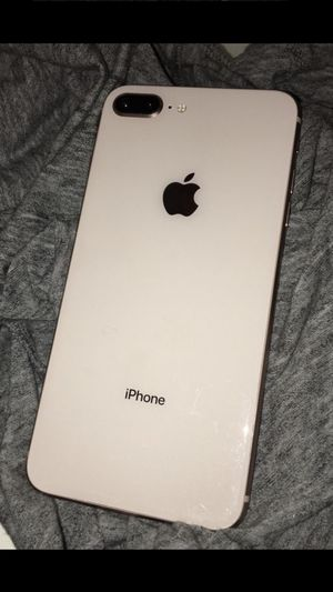 iPhone 8 Plus unlocked white for Sale in Houston, TX