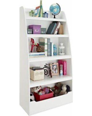 5 DE MAYO SALE White kids wood Bookcase