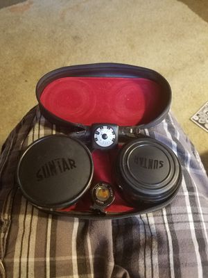Classic suntar camera lens. for Sale in Tampa, FL