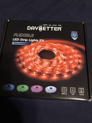 Daybetter led strip lights with control remote 32.8 feet long for Sale in Lynwood, CA