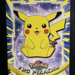 Pokémon Card | PIKACHU | #25 | Topps | Non HOLO Rare | NM | for Sale in Poulsbo, WA
