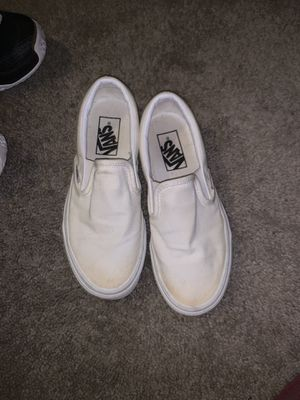 white vans for Sale in Dallas, TX