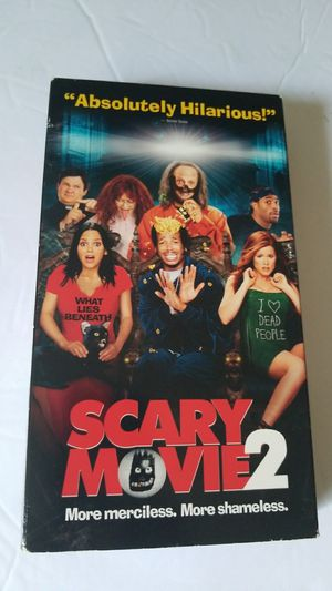 Scary movie 2 vhs movie for Sale in Cooper City, FL