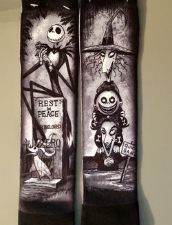 "Disney Parks ""Nightmare Before Christmas"" Socks~Limited Release~NWT, Tim Burton, Disney for Sale in Corona,  CA"